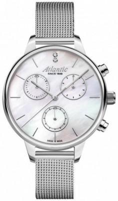 Atlantic Elegance női karóra, 29435.41.21, Divatos, Kvarc, Acél