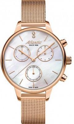 Atlantic Elegance női karóra, 29435.44.07, Divatos, Kvarc, Nemesacél