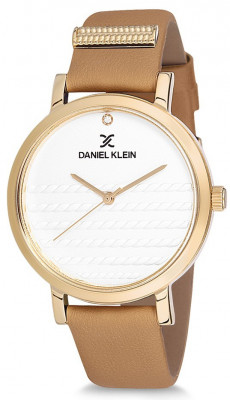 Daniel Klein Premium női karóra, DK12054-2, Divatos, Kvarc, Bőr