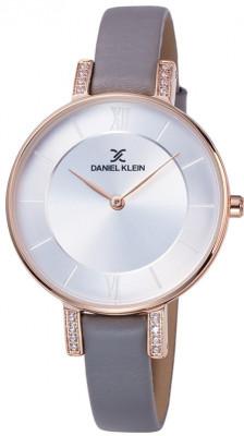 Daniel Klein Fiord női karóra, DK12027-7, Divatos, Kvarc, Bőr
