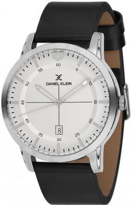 Daniel Klein Premium férfi karóra, DK11732-1, Divatos, Kvarc, Bőr