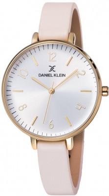 Daniel Klein Premium női karóra, DK11983-2, Divatos, Kvarc, Bőr