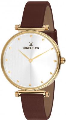 Daniel Klein Premium női karóra, DK11687-3, Divatos, Kvarc, Bőr