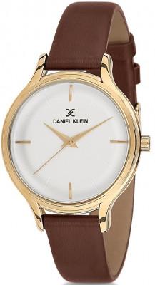 Daniel Klein Premium női karóra, DK11676-2, Divatos, Kvarc, Bőr