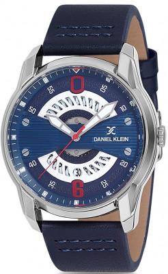Daniel Klein Premium férfi karóra, DK12155-6, Divatos, Kvarc, Bőr