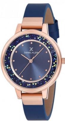 Daniel Klein Premium női karóra, DK12051-6, Divatos, Kvarc, Bőr