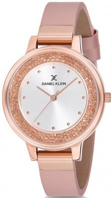 Daniel Klein Premium női karóra, DK12051-7, Divatos, Kvarc, Bőr