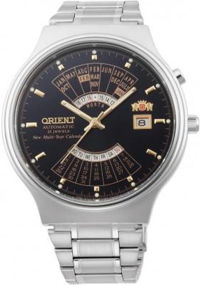 Orient Multi Year Calendar férfi karóra, FEU00002BW, Klasszikus, Automata, Nemesacél