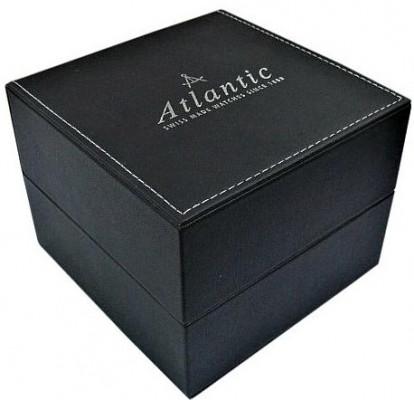 Atlantic Speedway Royal  Second férfi karóra, 68353.41.62O, Elegáns, Kvarc, Bőr