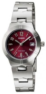Casio Standard női karóra, LTP-1241D-4A2DF, Klasszikus, Kvarc, Nemesacél