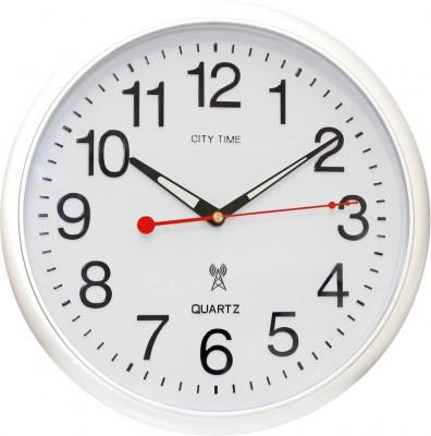 City Time rádióvezérelt falióra, WCRD30001-W, Rádióvezérelt
