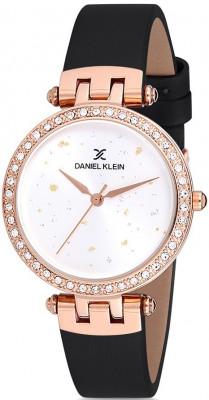 Daniel Klein Premium női karóra, DK12199-3, Divatos, Kvarc, Bőr