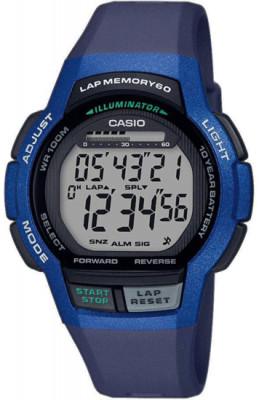 Casio Collection férfi karóra, WS-1000H-2A, Sportos, Digitális, Műanyag