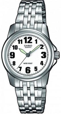 Casio Standard női karóra, LTP-1260PD-7B, Klasszikus, Kvarc, Nemesacél