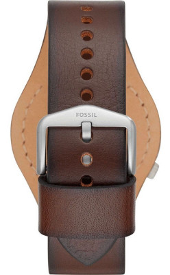 Fossil Barstow férfi karóra, FS5510, Divatos, Kvarc, Bőr