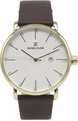 Daniel Klein Premium férfi karóra, DK11617-2, Klasszikus, Kvarc, Bőr