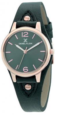 Daniel Klein Premium női karóra, DK.1.12306.2, Divatos, Kvarc, Bőr
