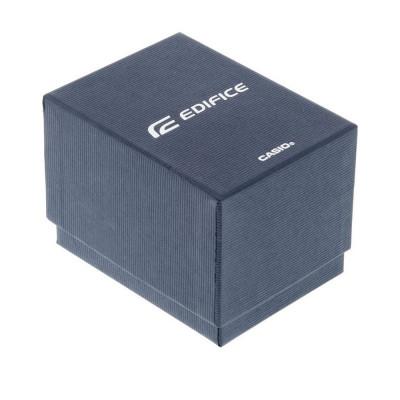 Casio Edifice férfi karóra, EFR-570BL-1AVUEF, Divatos, Kvarc, Bőr