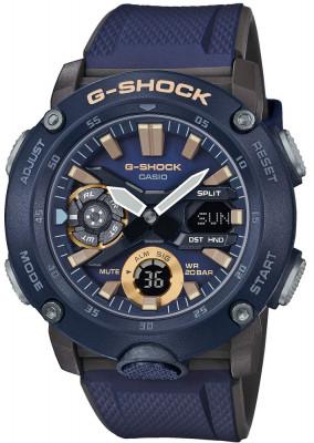 Casio G-Shock G-Classic férfi karóra, GA-2000-2AER, Sportos, Kvarc, Műanyag