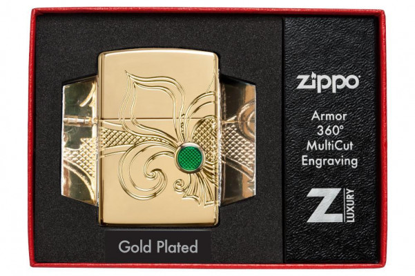 Zippo  Armor Fleur-de-lis Design öngyújtó, Z49108