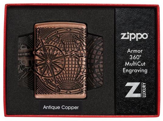Zippo World Map Design öngyújtó, Z29853