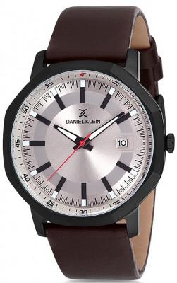 Daniel Klein Premium férfi karóra, DK12140-6, Divatos, Kvarc, Bőr