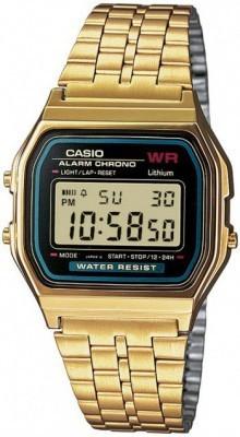 Casio Retro unisex karóra, A159WGEA-1DF, Sportos, Digitális, Fém