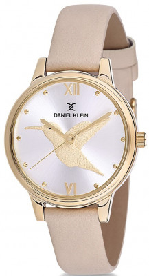 Daniel Klein Trendy női karóra, DK12045-4, Divatos, Kvarc, Bőr