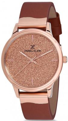Daniel Klein Premium női karóra, DK12052-2, Divatos, Kvarc, Bőr