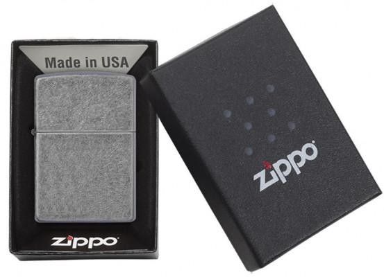 Zippo Classic Antique Silver öngyújtó, Z121FB