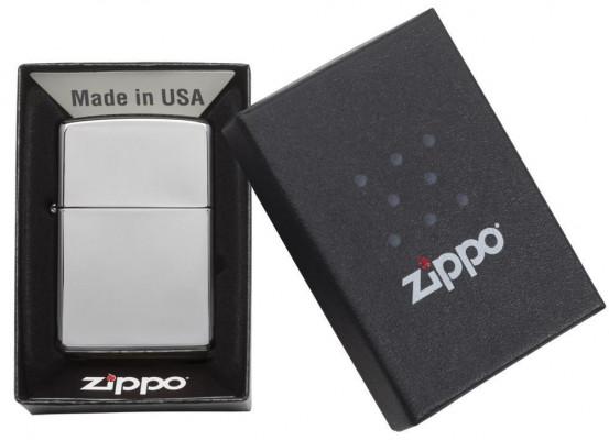 Zippo Classic High Polish Chrome öngyújtó, Z250
