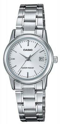 Casio Standard női karóra, LTP-V002D-7A, Klasszikus, Kvarc, Fém