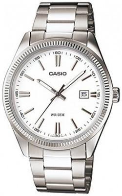 Casio Standard férfi karóra, MTP-1302D-7A, Kvarc, Fém