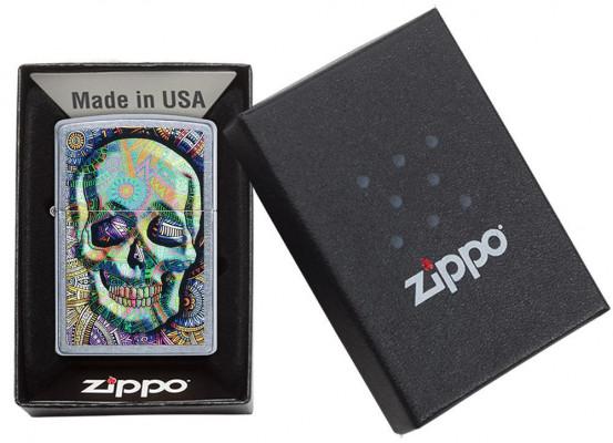 Zippo Geometric Skull Design öngyújtó, Z49140