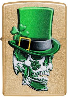Zippo Irish Skull Design öngyújtó, Z49121