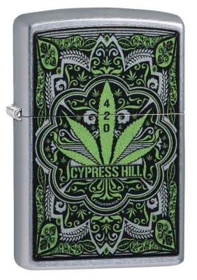 Zippo Street Chrome ™ Cypress Hill öngyújtó, Z49010