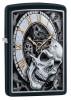 Zippo Skull Clock Design öngyújtó, Z29854