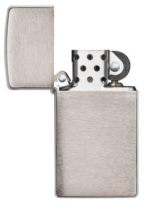Zippo  Slim ® Brushed Chrome öngyújtó, Z1600