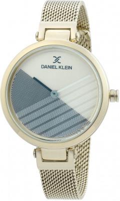 Daniel Klein Trendy női karóra, DK.1.12356.3, Divatos, Kvarc, Nemesacél