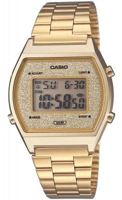 Casio Retro női karóra, B640WGG-9EF, Sportos, Digitális, Nemesacél