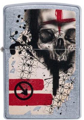 Zippo Trash Polka Tattoo Skull  öngyújtó, Z29856