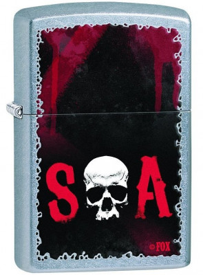 Zippo Sons of Anarchy Street Chrome ™ öngyújtó, Z28836