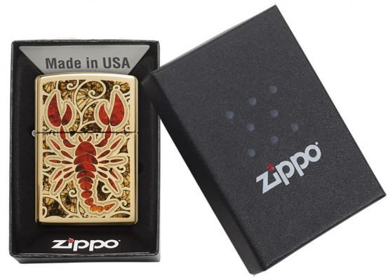 Zippo Fusion Scorpio öngyújtó, Z29096