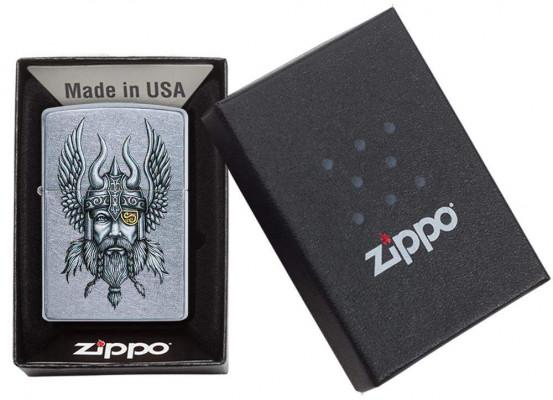 Zippo Viking Warrior Street Chrome ™ öngyújtó, Z29871