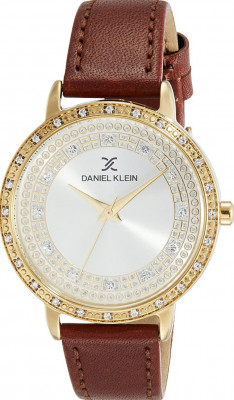 Daniel Klein Premium női karóra, DK11399-6, Divatos, Kvarc, Bőr