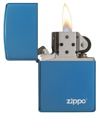 Zippo Blue Zippo Logo öngyújtó, Z20446ZL