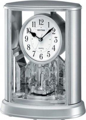 Rhythm asztali-kandalló óra, 4SG724WR19, Kvarc