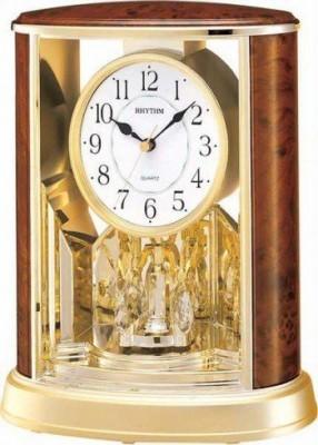 Rhythm kandalló óra, 4SG724WS06, Kvarc