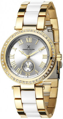 Daniel Klein Premium női karóra, DK10801-6, Divatos, Kvarc, Fém