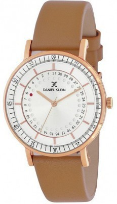 Daniel Klein Fiord női óra, DK11503-2, Divatos, Kvarc, Bőr